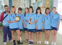 Соревнований по волейболу