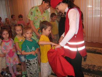 """Акция """"В гости к детям с ограничинными возможностями"""""""