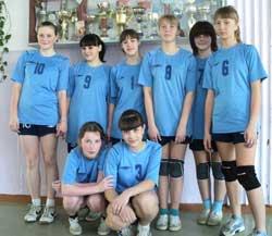 В Минусинске проходили краевые зональные соревнования по волейболу