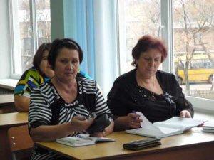 Заседание школьного методического объединения