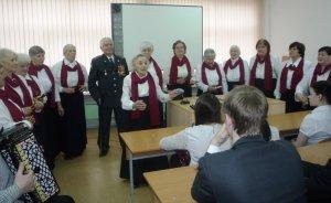 Встреча с членами клуба «Дети Великой Отечественной войны».