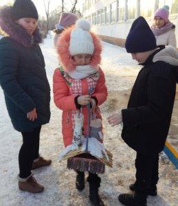 Посвящение в участники «Российского движения школьников»